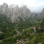 Trekking to Hugher mountain