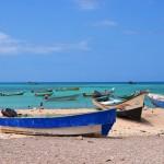 fishing boats in Qalansyia